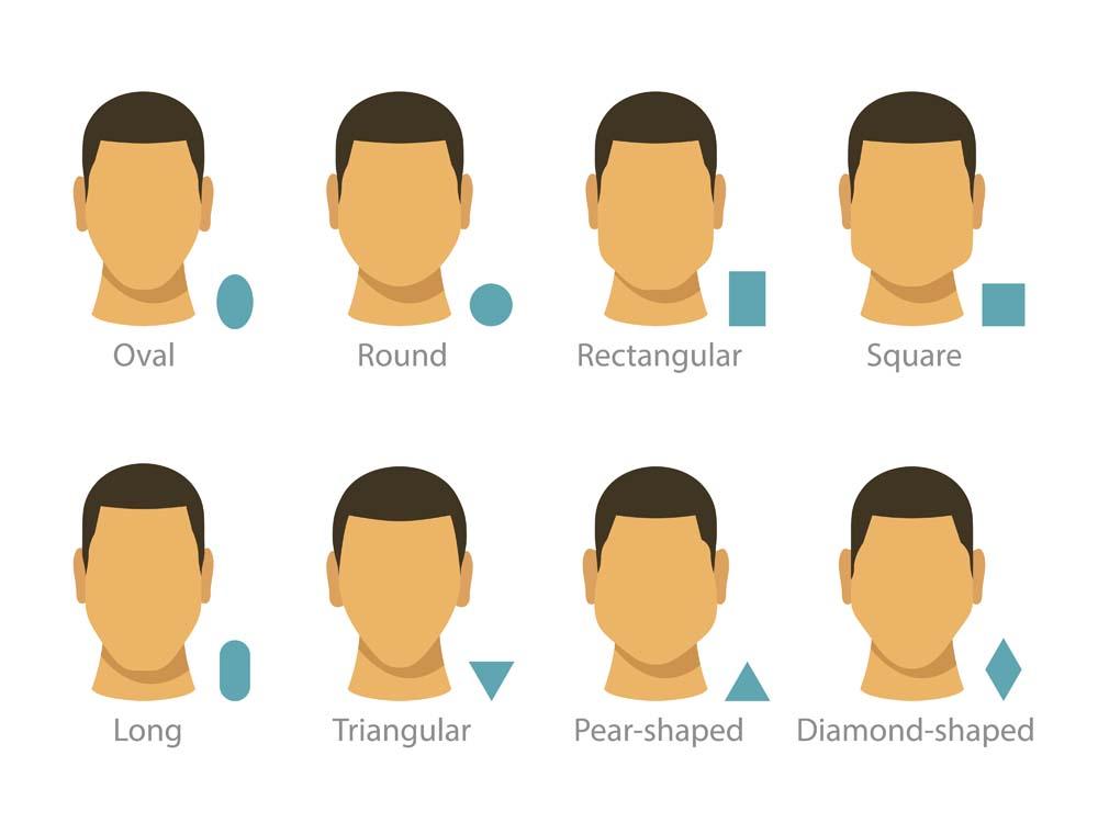 似合う髪型 顔の形