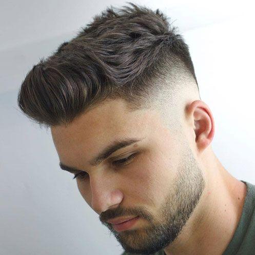 四角顔に似合う髪型 バーバースタイル